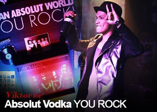 Viktor For Absolut Vodka You Rock