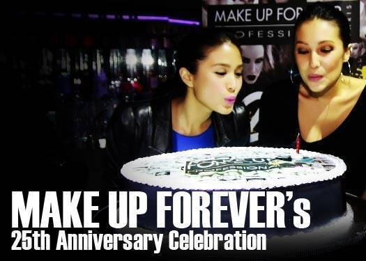 Make Up Forever's 25th Anniversary