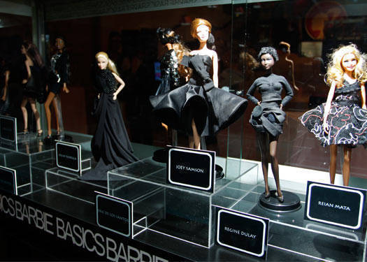 Barbies By The Young Designers Guild