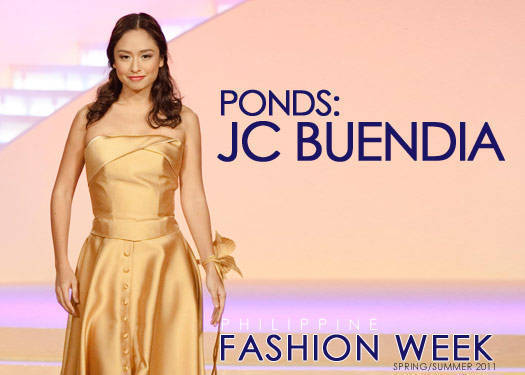 Jc Buendia For Pond's Gold Radiance Spring/summer 2011
