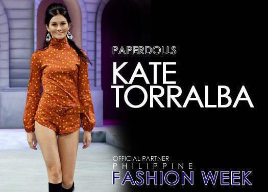 Kate Torralba For Paperdolls Spring/summer 2011