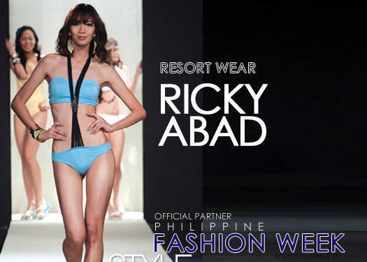 Ricky Abad Resort Wear 2011