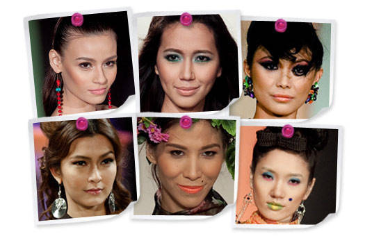Beauty Trends At Pfw Spring Summer 2011 1