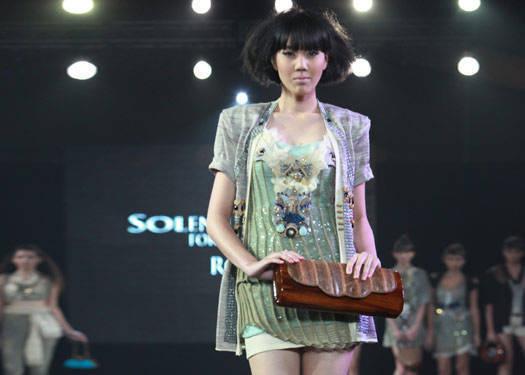 Metrowear: Solenn Heussaff For Tan-gan & Rocio Olbes