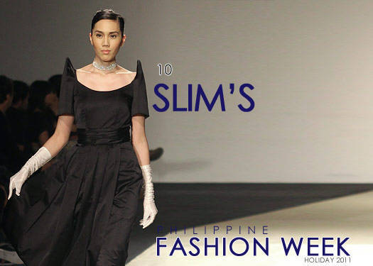 Slims At Philippine Fashion Week  Holiday 2011