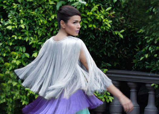 Behind The Scenes Of Preview July 2011: Iza Calzado 1