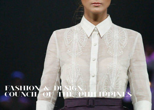 Metrowear Filipiniana: Fashion And Design Council Of The Philippines