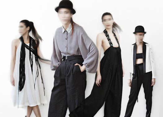 Rajo Laurel: Androgyny, Womenswear
