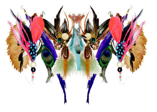 Shopping Guide: Feather Accessories