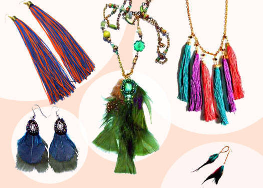 Shopping Guide: Trendy Tassels And Fine Feathers