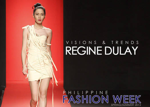Regine Dulay Spring/summer 2012