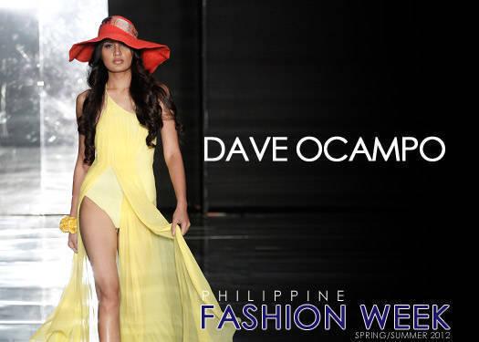 Dave Ocampo Spring/summer 2012