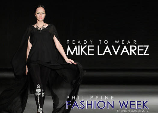 Mike Lavarez Spring/summer 2012