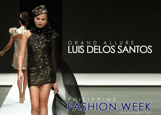 Luis Delos Santos Spring/summer 2012
