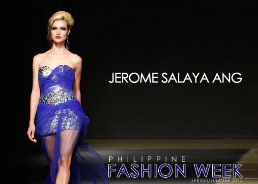 Jerome Salaya Ang Spring/summer 2012