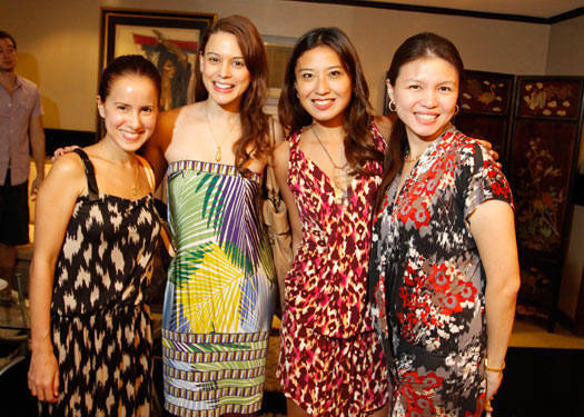 Rosanna Ocampo Holiday 2011 Trunkshow