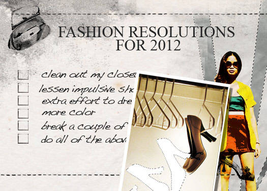 Fashion Resolutions For 2012 1