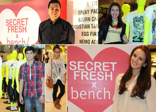 The Launch Of Secret Fresh X Bench