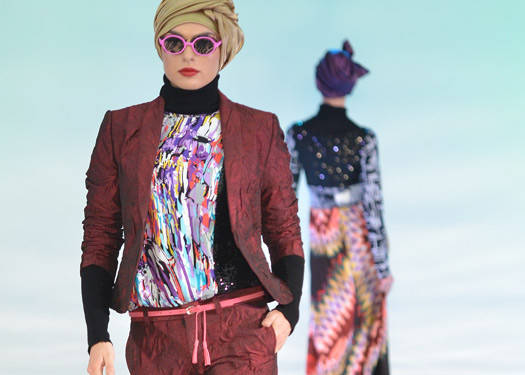 Islamic Fashion Festival 2012: Veejay Floresca