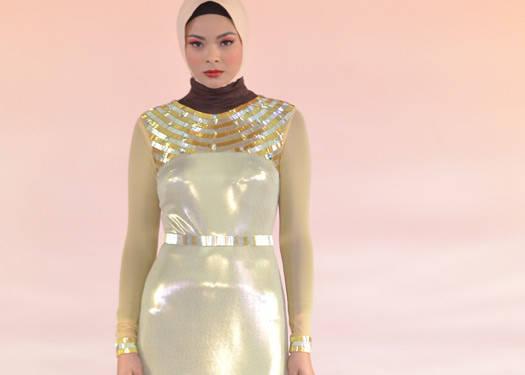 Islamic Fashion Festival 2012: Jun Escario