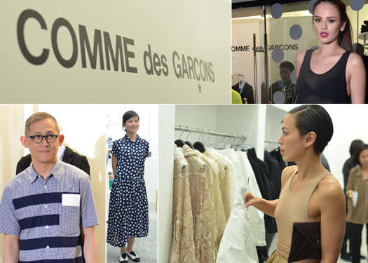 Comme Des Garcons Opens In Manila