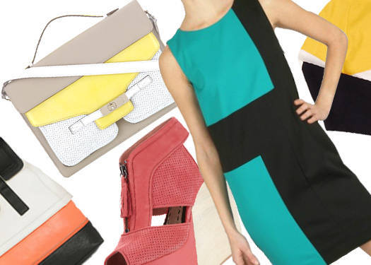 Shopping Guide: Color Block With Black