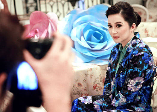 Behind The Scenes Of Preview May 2012: Kris Aquino
