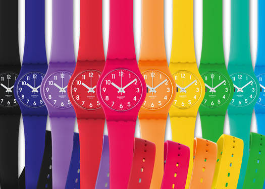 Swatch Launches Collections For 2012