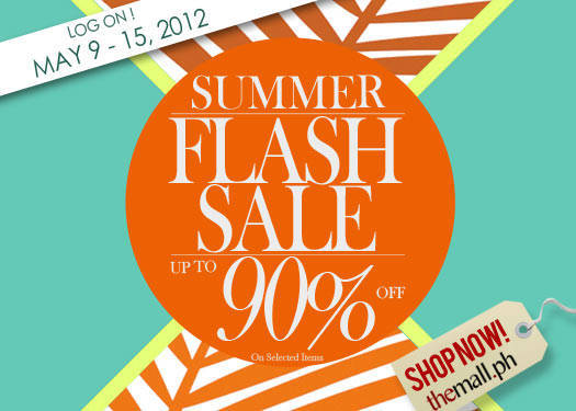 Shopping Guide: The Mall's Flash Sale