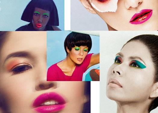 How To Wear: Neon Makeup