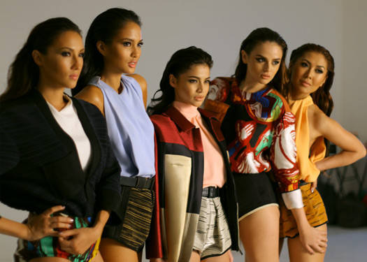 Behind The Scenes Of Preview June 2012: Anne Curtis, Solenn Heussaff, Belle Daza, Georgina Wilson And Liz Uy