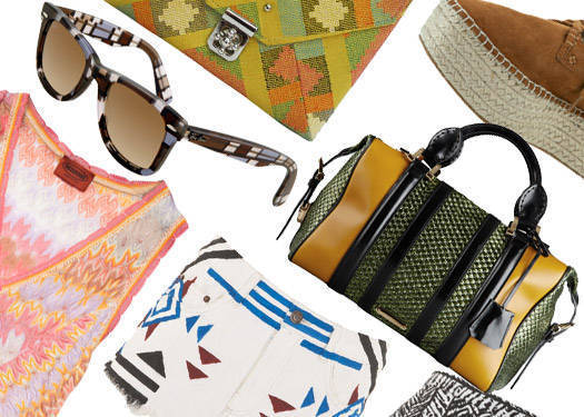 Shopping Guide: Basket Weave And Batik Prints
