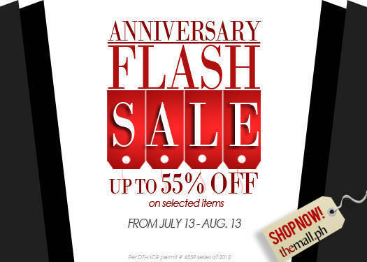 Shopping Guide: The Mall's Anniversary Flash Sale