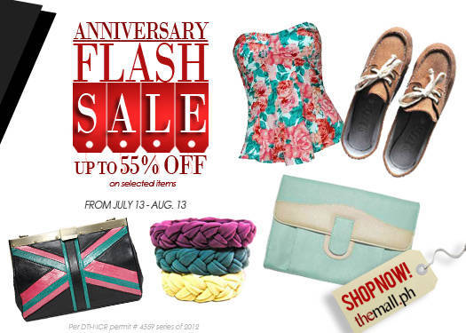 Shopping Guide: Anniversary Flash Sale