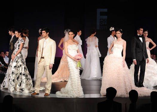 Samsung, Inquirer, & Look Magazine Face-off: Filipino Bridal Collection 2012