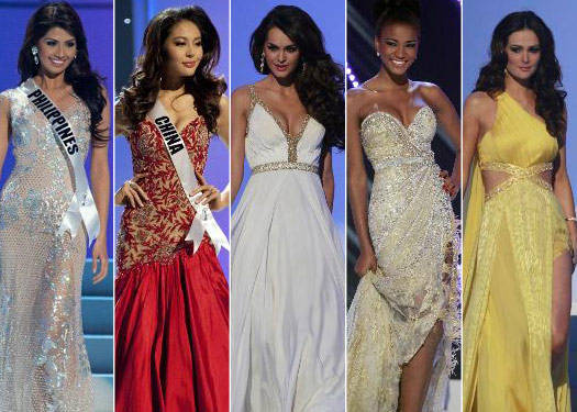 The Miss Universe Evening Gown Face-off