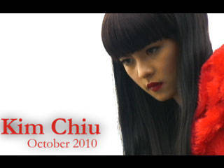 Behind The Scenes Of Preview October 2010: Kim Chiu