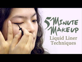 Liquid Eyeliner Techniques