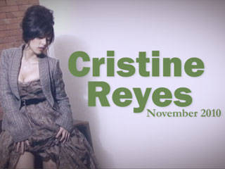Behind The Scenes Of Preview November 2010: Cristine Reyes