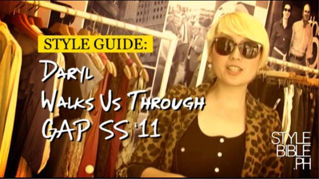 Daryl Chang Walks Us Through Gap Ss'11