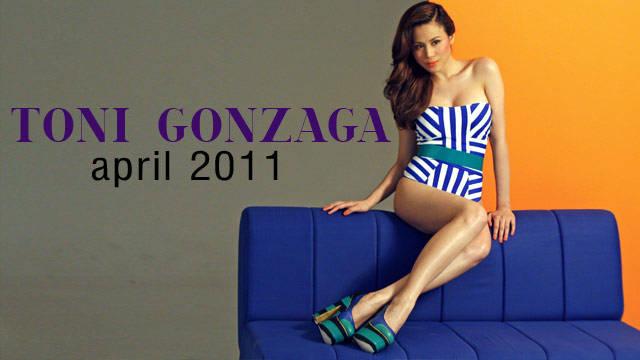 Behind The Scenes Of Preview April 2011: Toni Gonzaga