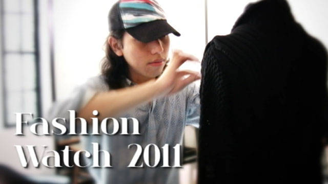 Fashion Watch Preludes: Jerome Lorico
