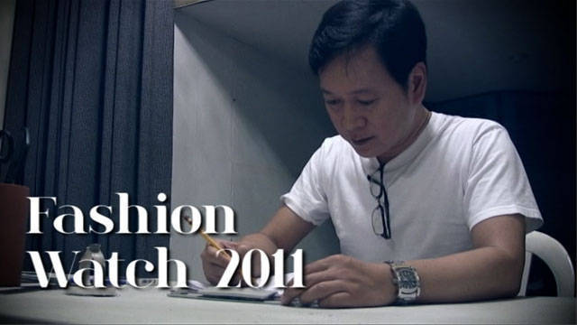 Fashion Watch Preludes: Jojie Lloren