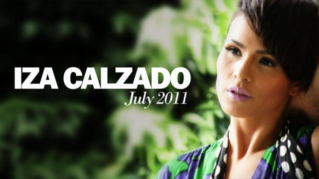 Behind The Scenes Of Preview July 2011: Iza Calzado