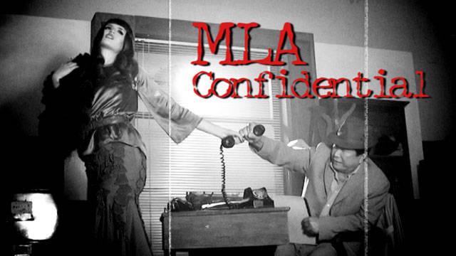Behind The Scenes: Mla Confidential 1