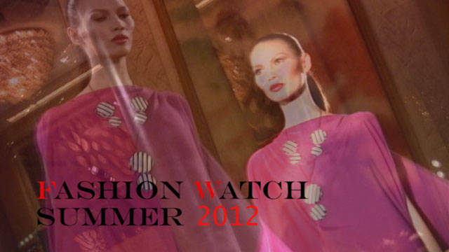 Fashion Watch Summer 2012: James Reyes 1