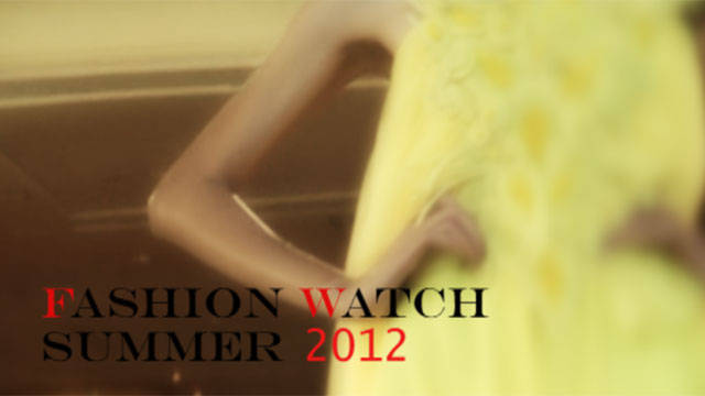 Fashion Watch Summer 2012: Joel Escober 1