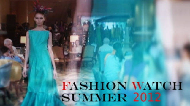 Fashion Watch Summer 2012: Jojie Lloren 1