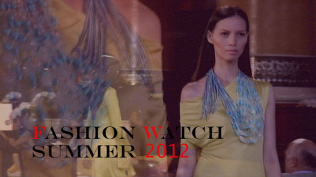 Fashion Watch Summer 2012: Patrice Ramos-diaz