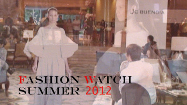 Fashion Watch Summer 2012: Jc Buendia